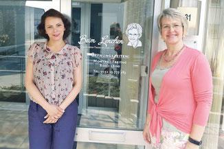 Asita Mehrgani und Claudia Konrad (v.l.). | Foto: Elisabeth Erbe