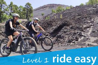 eMTB Tour Level 1 ride easy