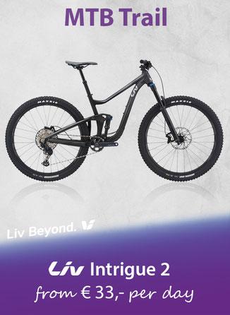 GIANT Reign 1.5  Mietbike La Palma
