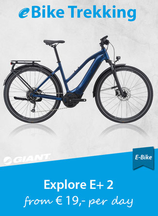 e-Bike Trekking GIANT Explore E+2 STA