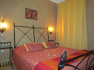 chambre d'hotes  de  la chambre d'hôtes paprika, maison d'hôtes, Riad le Jardin des Epices, hôtel à Taroudant, Maroc