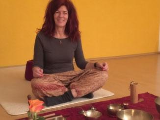 Meditation, Sylke Sander, Klangschalen