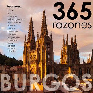 BURGOS,365 RAZONES