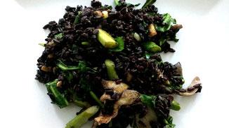 Schwarzer Reis mit Gemüse-Power - fair4world