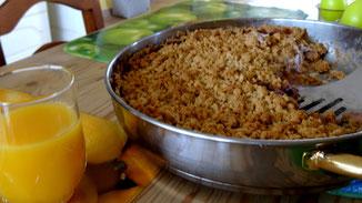 Veganer Heidelbeer-Cheesecake