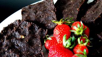 NoBake-Brownies mit Kokos - fair4world - fairani