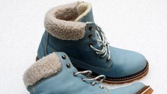 Tierische Mode - Blutige Mode - Mit Wolle gefütterte Winterschuhe - fairani