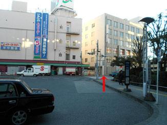 ヨーカドーの横断歩道画像