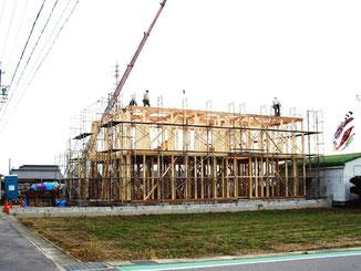 上棟式続き…2010/04/23