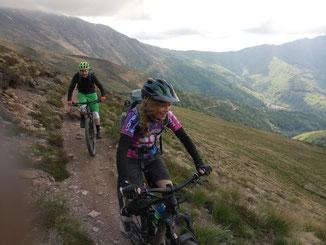 Trail Passo San Lucio - Monte Bar (Tessin)