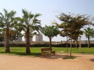 Jardins de la résidence