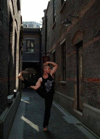 monki Yoga Workshop mit John Bentham