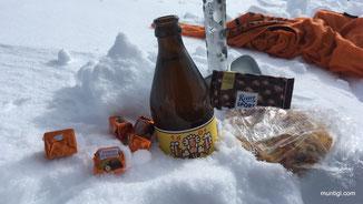 wos Siass, a Bier und an Kaspressknedl... des passt