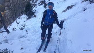 endlich auf Ski