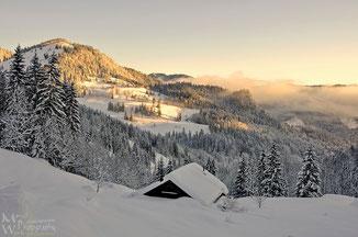 Wintertraum in Bayern (Klicken zum vergrößern)