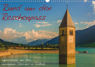 "Cover Kalender ""Rund um den Reschenpass 2014"" GER-Version"