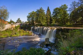 Der Wasserfall Keila-Joa im September