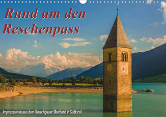 "Cover Kalender ""Rund um den Reschenpass 2014"" AT-Version"