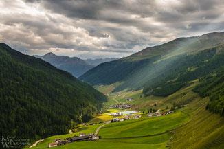 """""""Erleuchtung"""" in Südtirol (Klicken zum vergrößern)"""