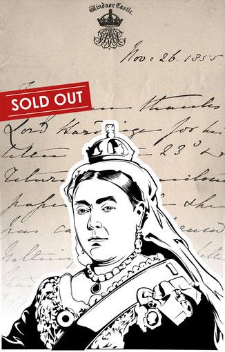 Luxury handbags with handwritten letter by Queen Victoria