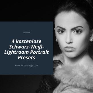 Einmal im Monat ein Freebee der Fotoschule Fotodialoge. Im Monat Oktober kannst Du Dir 4 kostenlose Schwarz-Weiß-Lightroom Portrait Presets herunterladen.