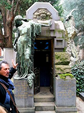 OmoGirando il Cimitero Monumentale