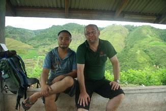 Unser Guide Pike und Chris
