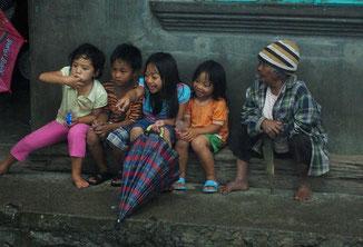 Während eines kleinen Zwischenstops in Sabangan