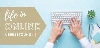 life in online Übersetzung!