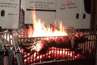 Traiteur le Cochon sans Rancune - Montrieux-en-Sologne - Formules méchouis pour vos soirées, fêtes et rencontres professionnelles
