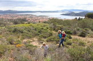 Wanderung zum Aussichtsberg oberhalb von La Maddalena
