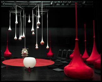"""construction de décors, décor de théâtre, spectacle, """"Petits Ragots de Mauvais Genre"""""""