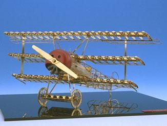 エアロベース(aerobase)[A001] 1/48 フォッカーDr.1