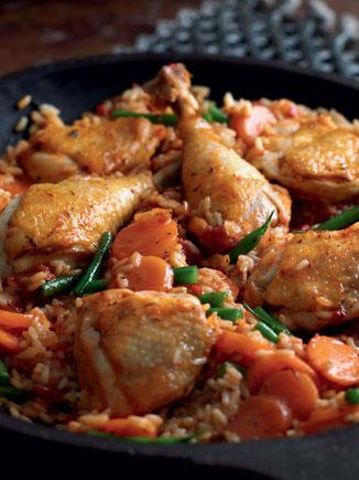 Yassa Poulet, plat typique sénégalais.