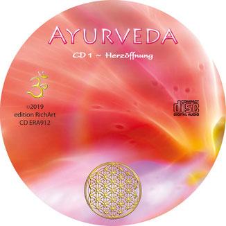 Ayurveda CD-Label