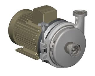 Kreiselpumpe der Baureihe CLC ohne Motorhaube