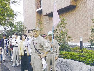 堀江一~五丁目防災歩け歩け大会