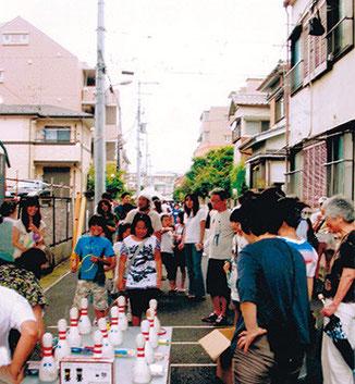10区自治会祭り