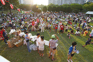 サンコーポ浦安の夏祭り