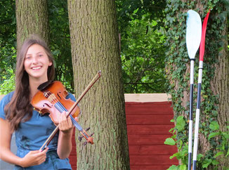 Urlaub MV Seenplatte Konzert Violine
