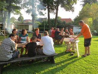Grillfest Urlaub Havel Mecklenburg MV