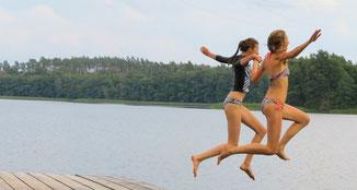 Baden Seenplatte Spaß