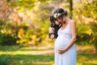 Babybauchfotografie, Babyfotos