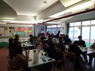 鳥取短期大学でのイノシシ肉の試食・意見交換