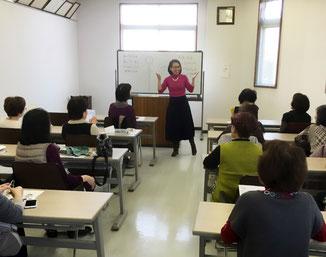 筑前町商工会議女性部「顔ヨガ体験」