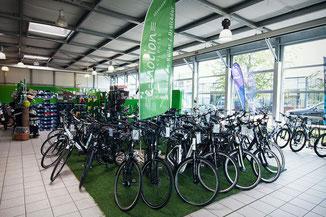 Die e-motion e-Bike Welt in Düsseldorf