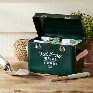 Saatgut-Box von Burgon & Ball bei www.the-golden-rabbit.de