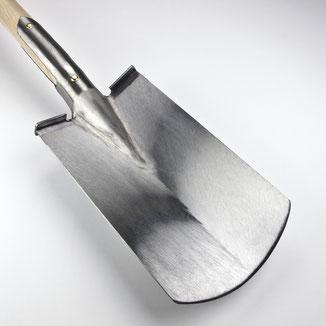 Blatt der Diamant-Schuffel, einem Jäter für feines Arbeiten in engen Reihen von der Manufaktur Sneeboer