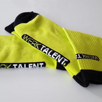 Logo sokken voor studenten laten maken