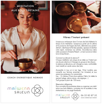 méditation collective aux bols tibétains - tours - SALEUN Maïwenn